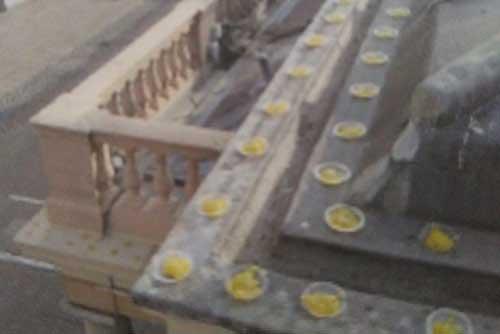 Cacitos antipalomas para edificios y repisas